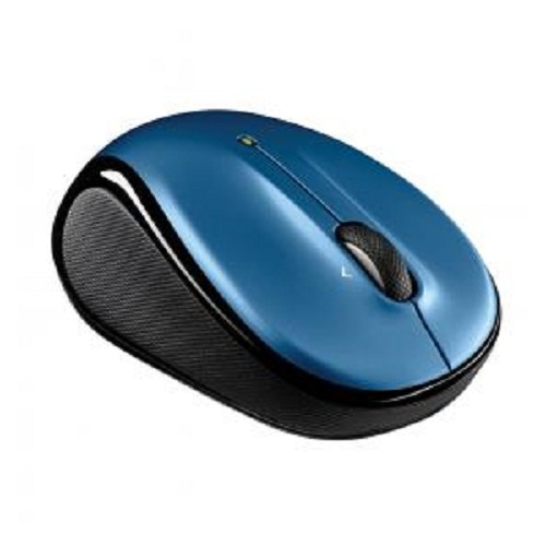 LOGITECH Wireless Mouse M325 [910-002387] - Peacock Blue - Mouse Basic